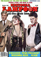 National Lampoon: All-Star Music Issue Magazine