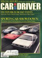 Car and Driver Vol. 27 No. 6 Magazine