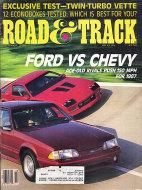 Road & Track Vol. 38 No. 2 Magazine