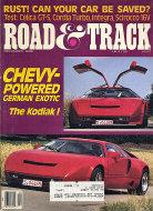 Road & Track Vol. 38 No. 4 Magazine