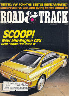 Road & Track Vol. 38 No. 6 Magazine