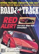 Road & Track Vol. 38 No. 8 Magazine