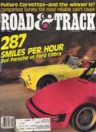 Road & Track Vol. 38 No. 9 Magazine