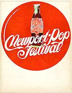 Newport Pop Festival Program