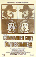 The Commander Cody Band Poster