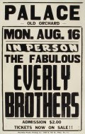 Everly Brothers Poster