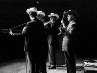 Bill Monroe and the Bluegrass Boys Fine Art Print