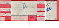 Patti LaBelle Vintage Ticket