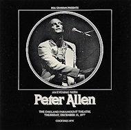 Peter Allen Program
