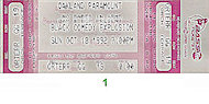 Jamie Foxx Vintage Ticket