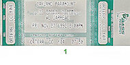 Al Jarreau Vintage Ticket