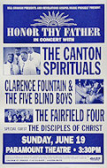Canton Spirituals Poster