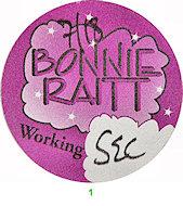 Bonnie Raitt Backstage Pass