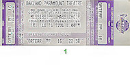 Mississippi Mass Choir Vintage Ticket