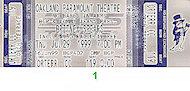 Britney Spears Vintage Ticket