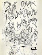 The New Delhi River Band Handbill