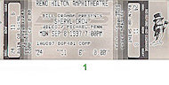Sheryl Crow Vintage Ticket