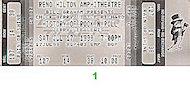 Chuck Berry Vintage Ticket