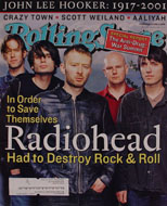 Rolling Stone Issue 874 Magazine