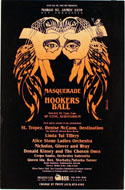 Margo St. James' Masquerade Hookers Ball Poster