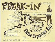 Little Gary Ferguson Handbill