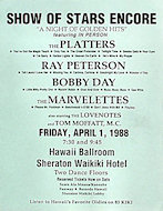 The Platters Handbill