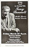 Tony Bennett Handbill