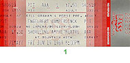 Engelbert Humperdinck Vintage Ticket