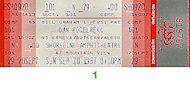 Dan Fogelberg Vintage Ticket