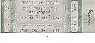 Reba McEntire Vintage Ticket