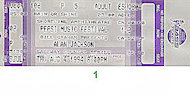 Pepsi Music Festival Vintage Ticket