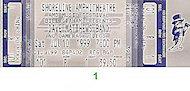 Dave Matthews Band Vintage Ticket