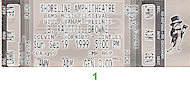 Bonnie Raitt Vintage Ticket