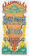 Brian Setzer Orchestra Handbill