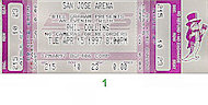Phil Collins Vintage Ticket
