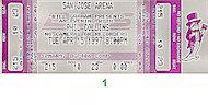 Phil Collins Vintage Ticket