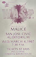 W.A.S.P. Poster