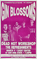 Gin Blossoms Poster