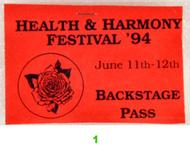 Health and Harmony Festival Laminate