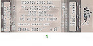 Sammy Hagar Vintage Ticket