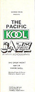 Pacific Kool Jazz Festival Program