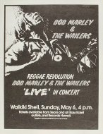 Bob Marley and the Wailers Handbill
