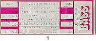 Emmylou Harris Vintage Ticket