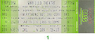 Everything But The Girl Vintage Ticket