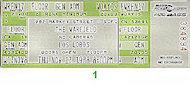 Los Lobos Vintage Ticket