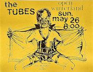 The Tubes Handbill