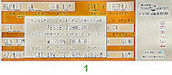 Jesse Johnson Vintage Ticket