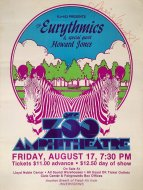 Eurythmics Poster