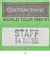 Cocteau Twins Backstage Pass