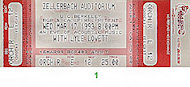 Lyle Lovett Vintage Ticket